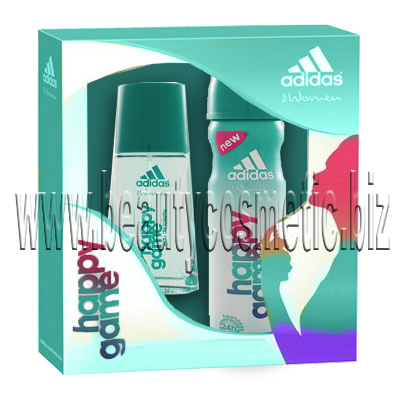Adidas Happy Game 2 Woman Gift Set