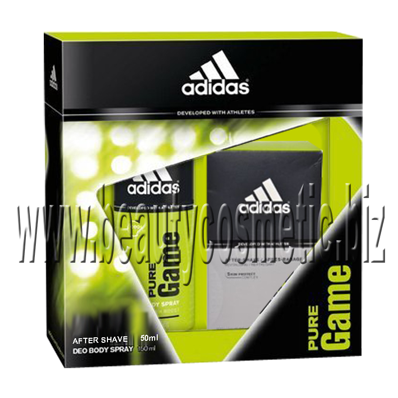 Adidas Pure Game    Men Gift Set