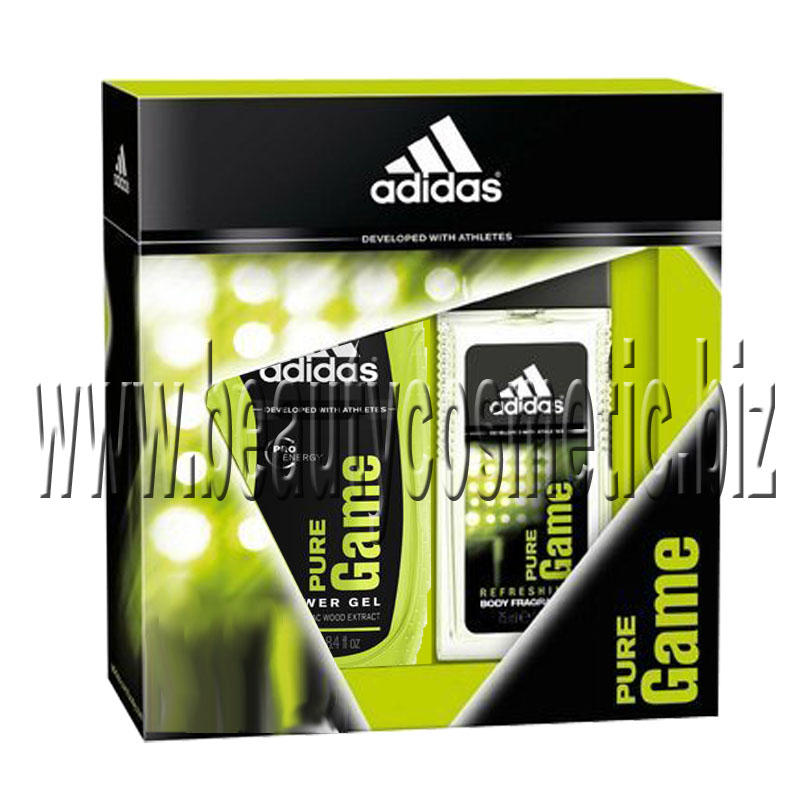 Adidas Pure Game 04 Men Gift Set