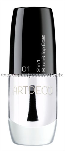 Artdeco 2 in 1 top coat and base