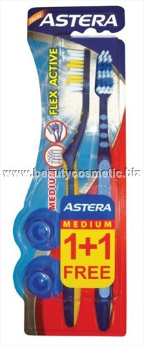 Astera Flex Active Duo toothbrushes