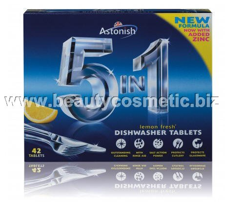 Astonish tablets dishwasher 5 in 1