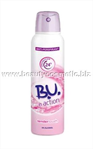 BU In Action Tender Touch deo spray