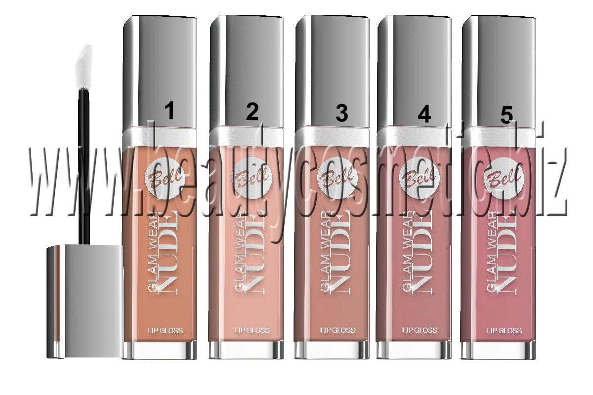 Bell Glam Nude Lipgloss