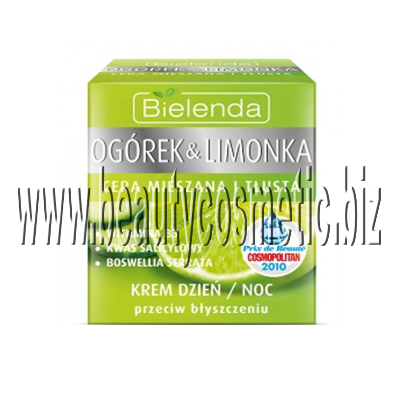 Bielenda Cucumber & Lime matte and balancing cream