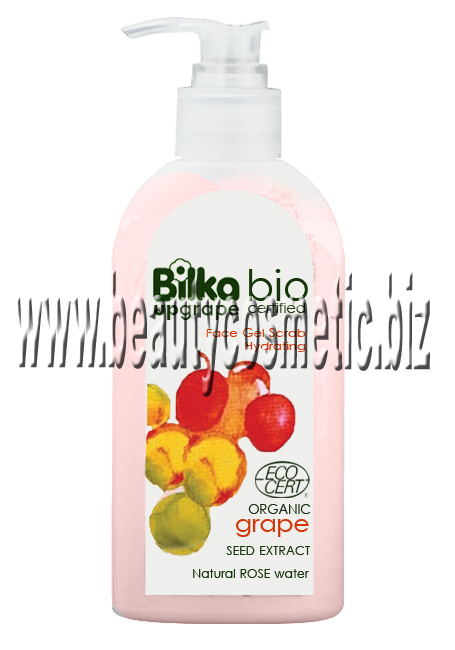 Bilka Upgrape Moisturizing Gel Scrub Face Wash