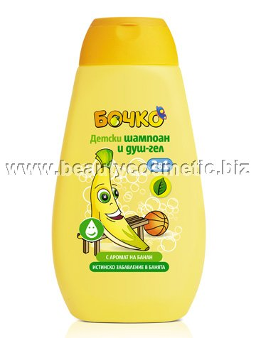 Bochko Banana Shampoo & Shower Gel