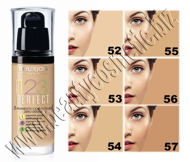 Bourjois 123 Perfect Harmonie Foundation