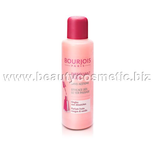 Bourjois gentle nail polish remover without acetone