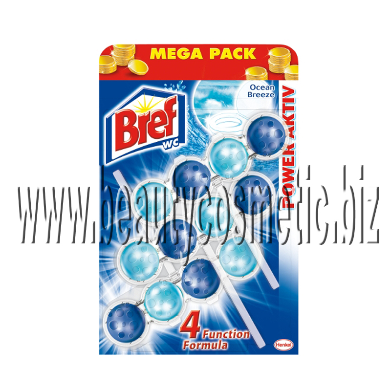 Bref WC Power Active Mega pack Ocean aroma