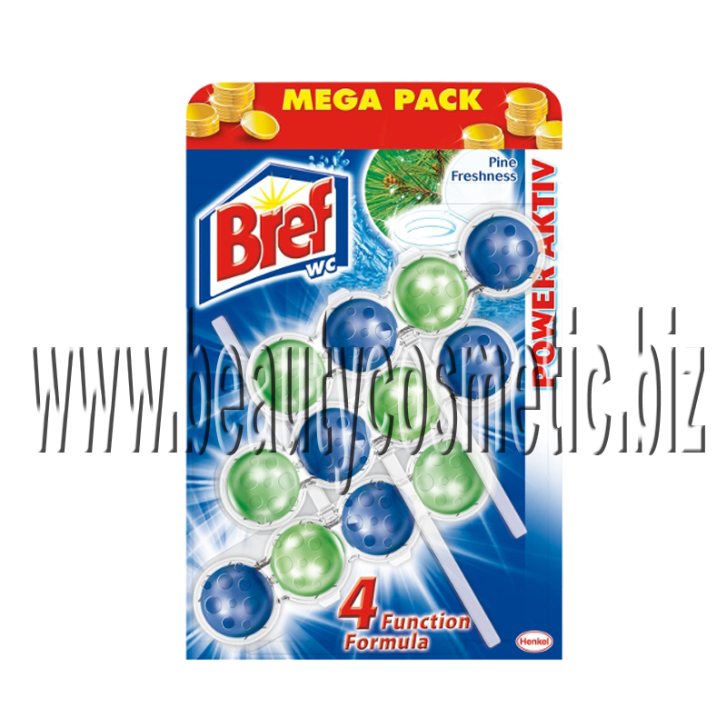 Bref WC Power Active Mega pack Бор ароматизатор