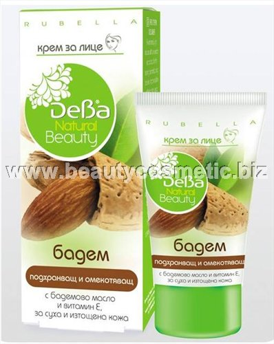 DeBa Natural Beauty Face Cream Almond