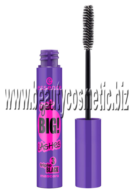 Essence Get Big Lashes triple black mascara