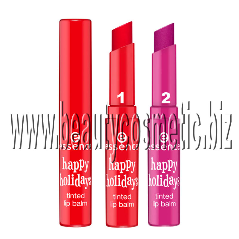 Essence happy holidays tinted lip balm