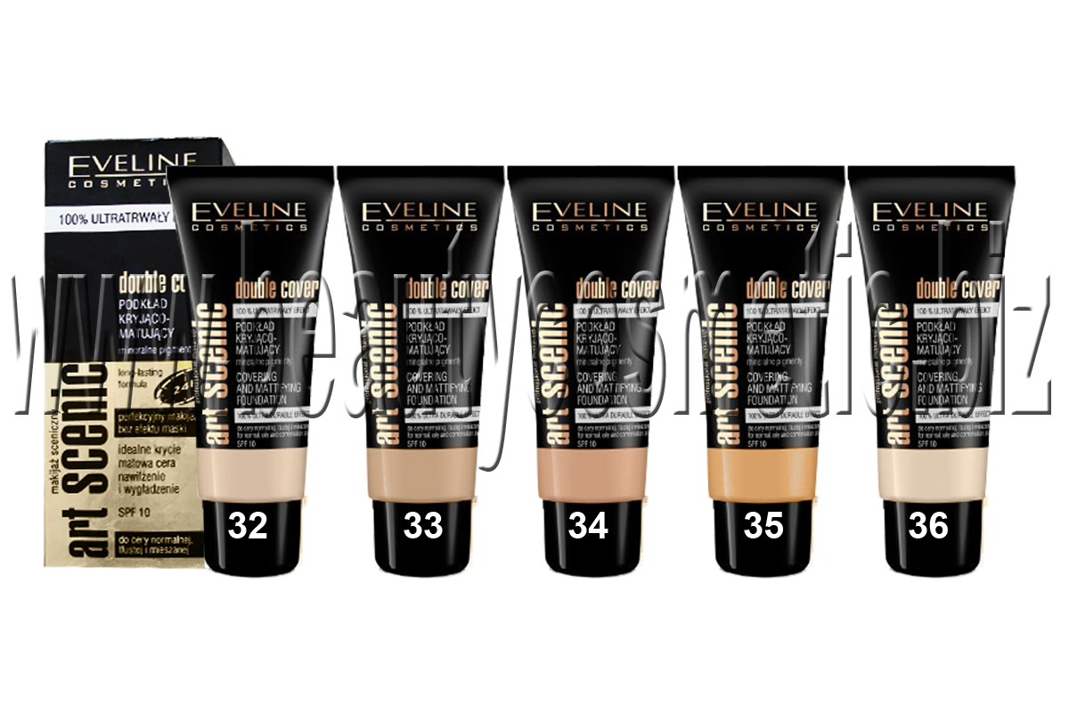 Eveline Double Cover matting and correcting foundation