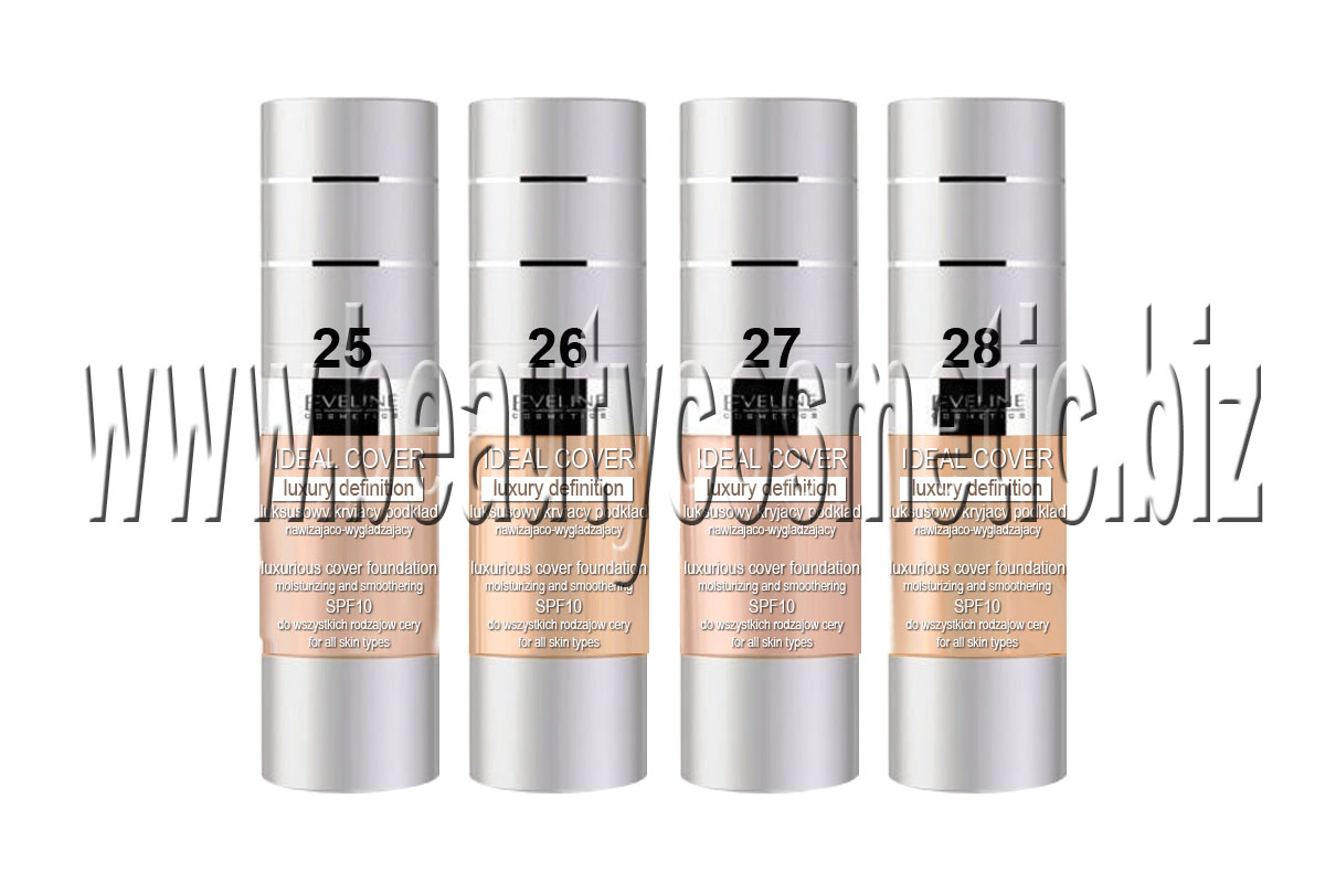 Eveline Ideal Cover moisturizing foundation with SPF 10