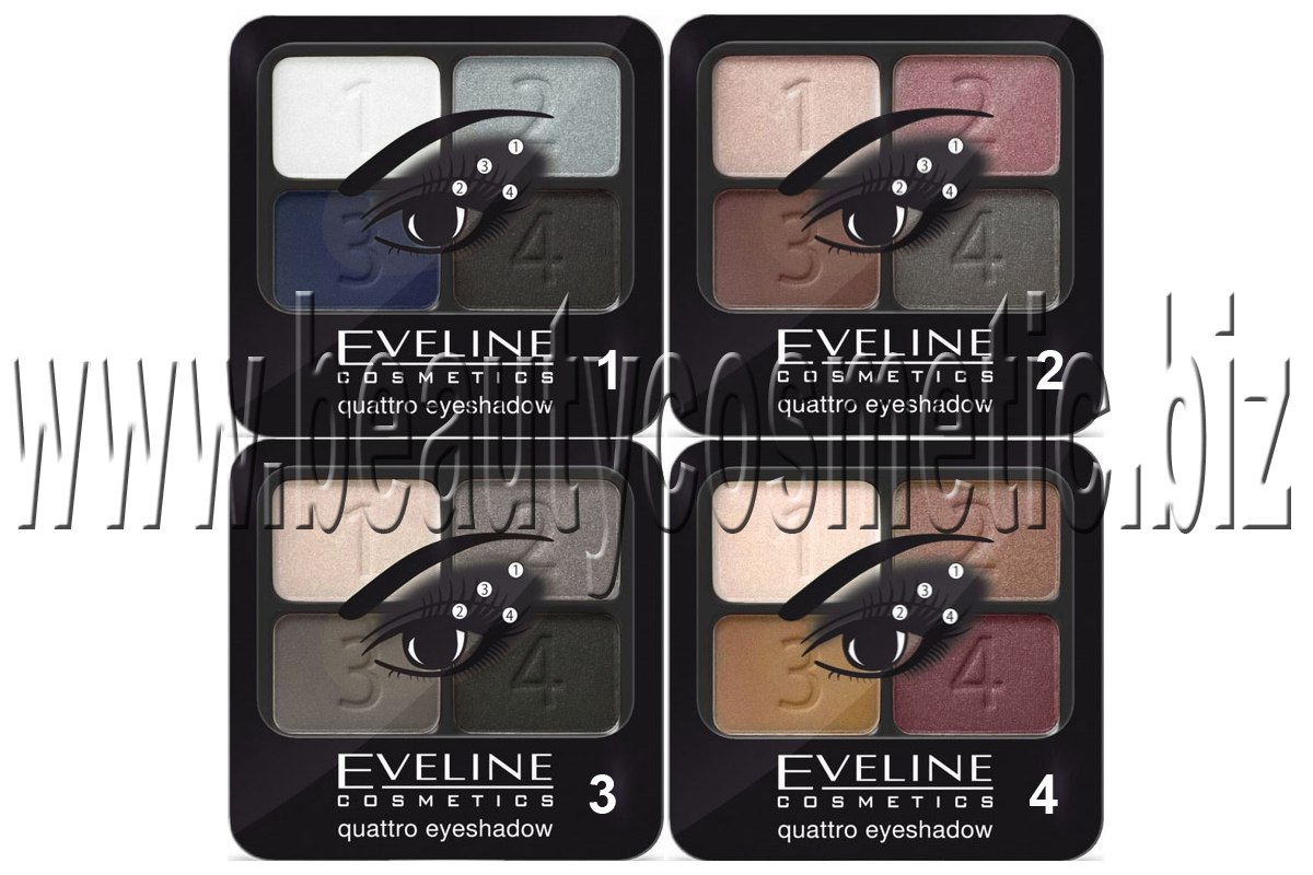 Eveline Eyeshadow Quartet