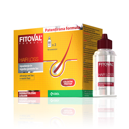 Fitoval lotion against hair loss