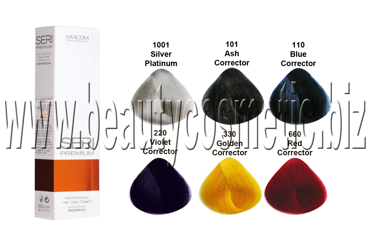 Seri Premium Mix Tones color боя за коса