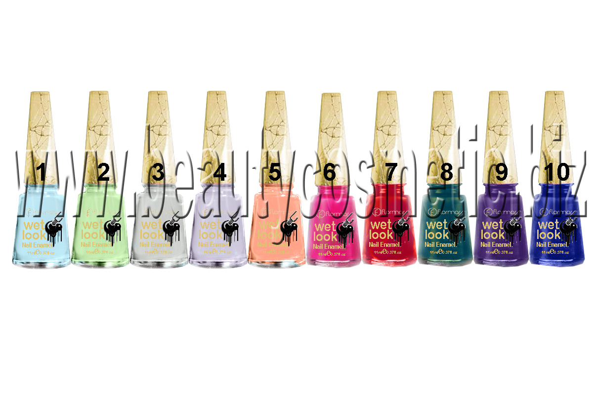 Flormar Wet Look nail polish