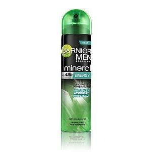Garnier men mineral energy deo spray