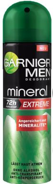 Garnier men mineral extreme deo spray
