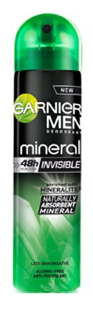 Garnier men mineral invisible део спрей