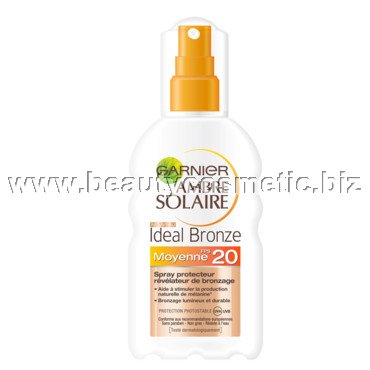 Garnier Ambre Solaire Ideal Bronze слънцезащитен спрей SPF20