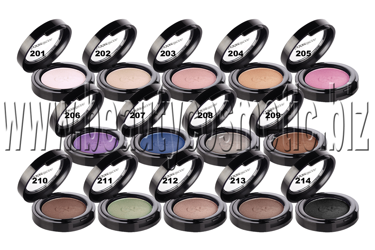 Golden rose Silky touch Matte Eyeshadow