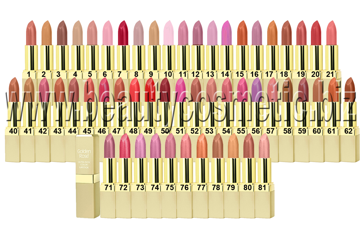 Golden Rose Ultra Rich Color Lipstick Beautycosmetic Online Store