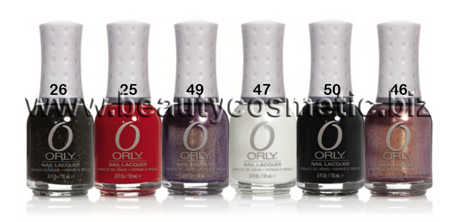 Orly Holiday Soireé Collection 2011