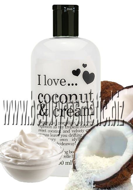 I Love...Coconut & Cream Bath & Shower cream