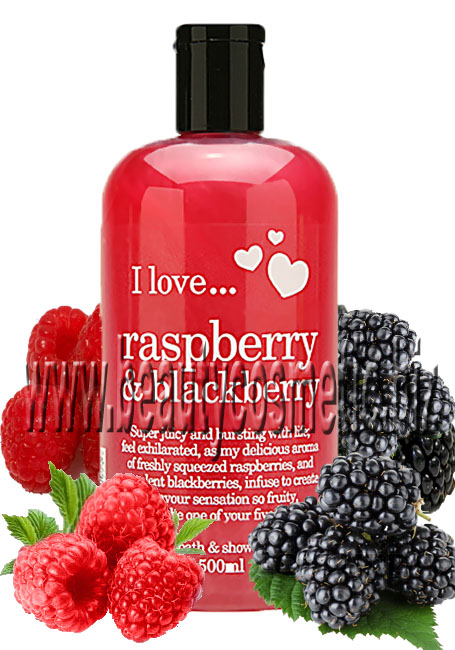 I Love...Raspberry & Blackberry Bath & Shower Creme