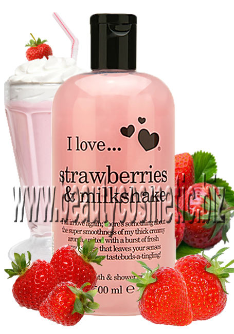 I Love...Strawberries & Milkyshake Bath & Shower Creme