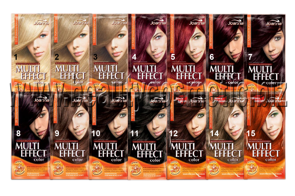Multi Color Effect coloring shampoo, BeautyCosmetic Online Store
