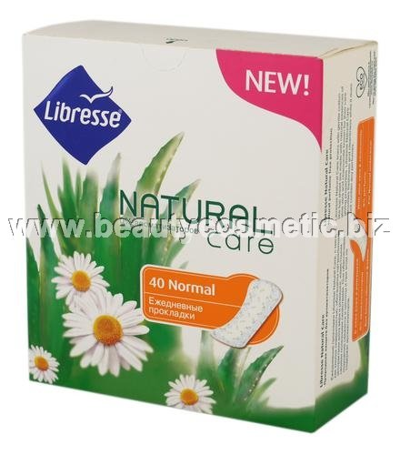 Libresse Natural Normal duo pack ежедневни превръзки