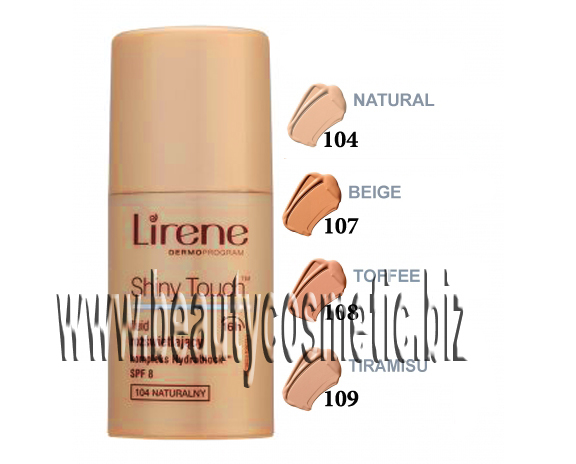 Lirene Shiny Touch фон дьо тен