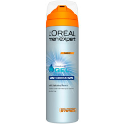Loreal menexpert anti-irritation гел за бръснене