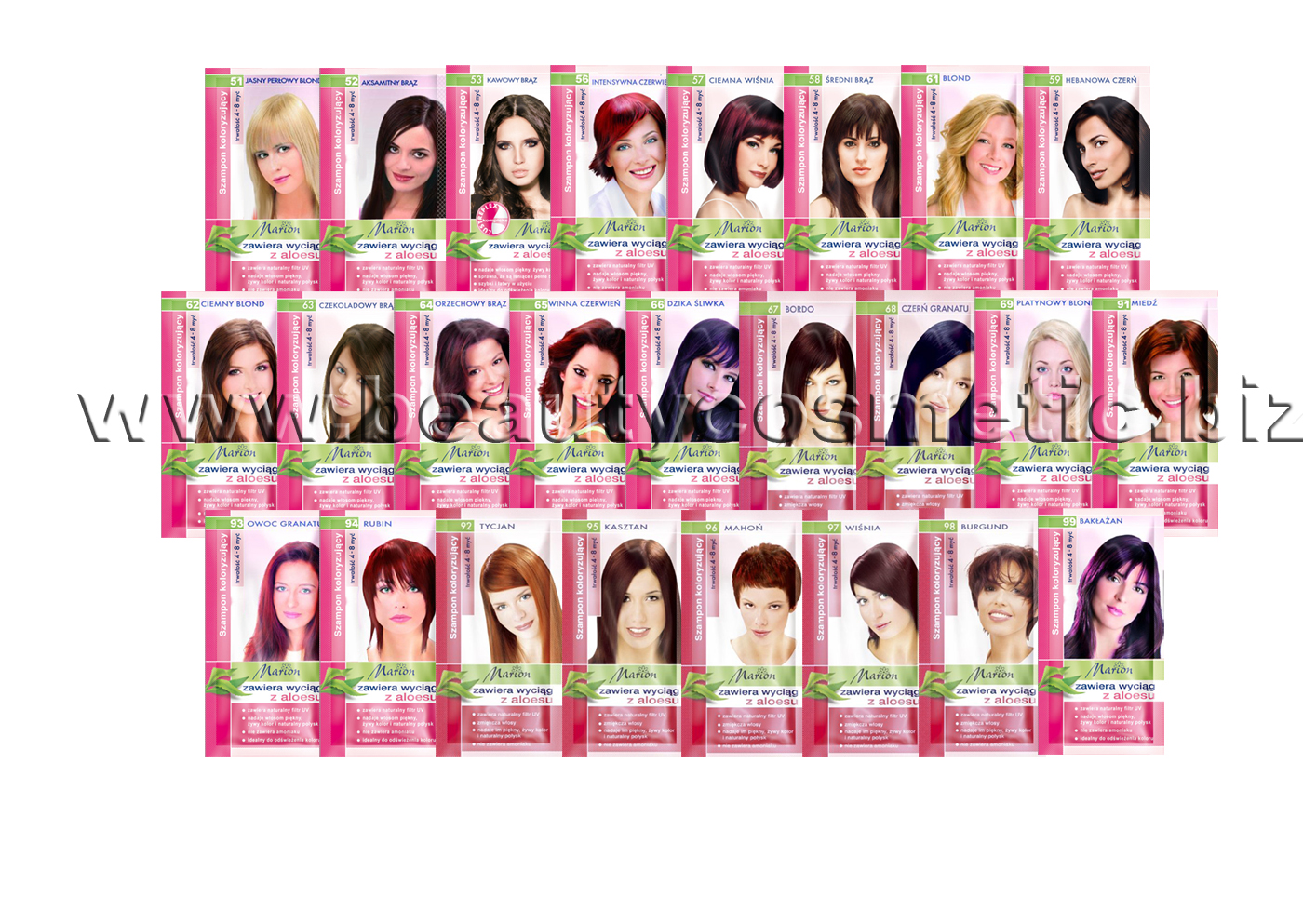 Marion Hair color shampoo