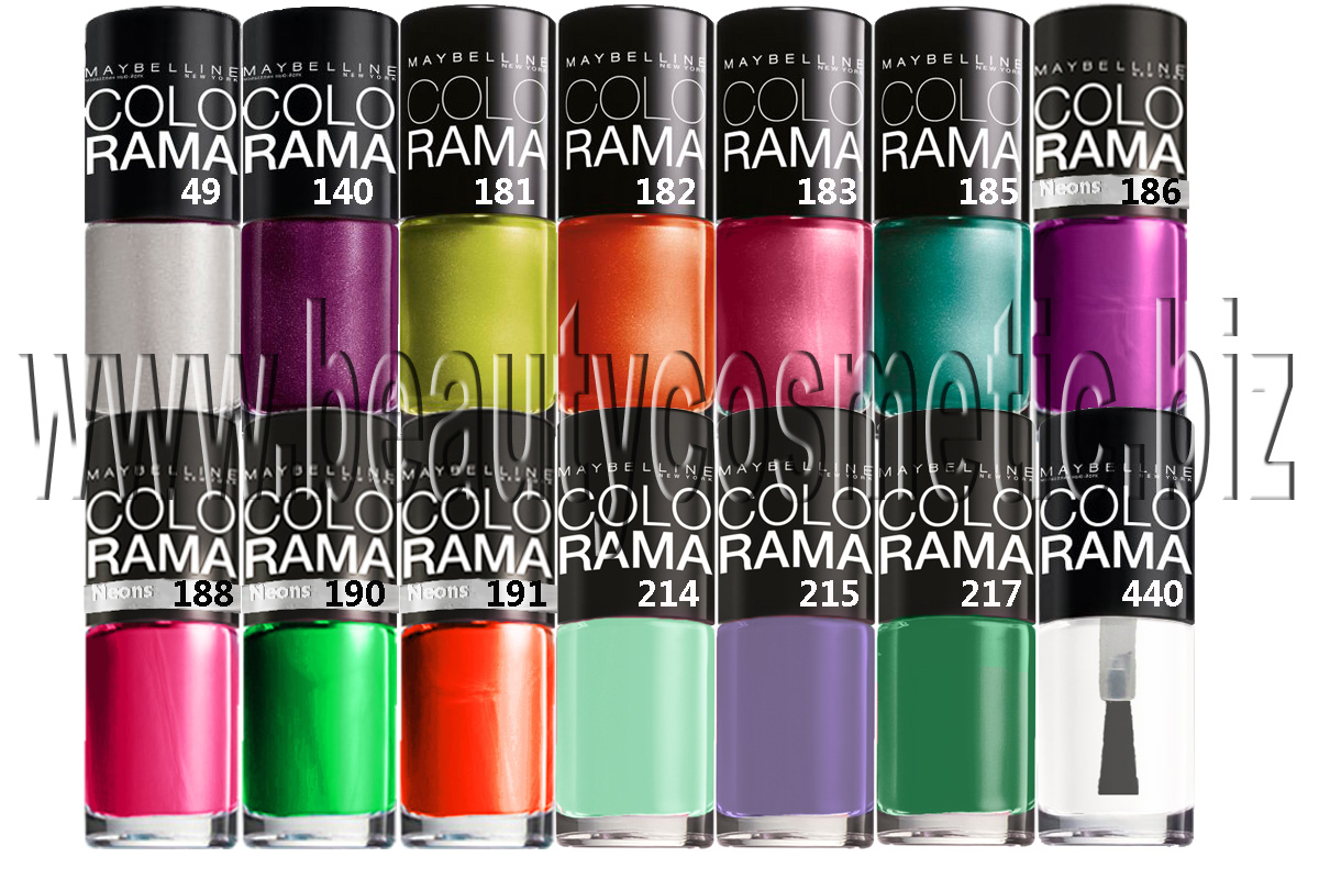 Maybelline Colorama summer 2013 лак за нокти