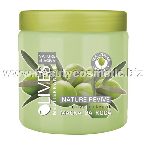 Agiva Olives Mask for hair with extracts of olive