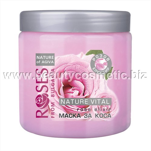 Agiva Roses Mask for Hair