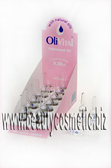OliVital grape seed oil Vitamin E