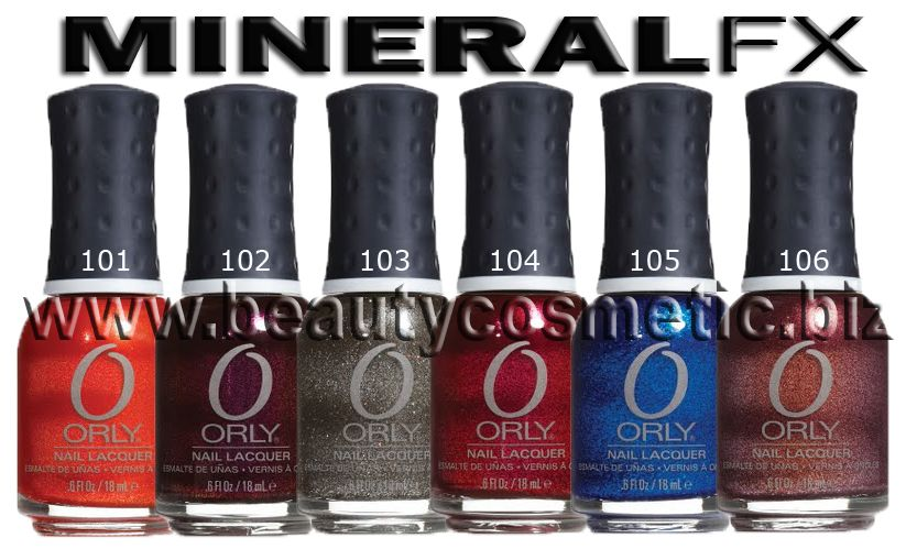 Orly Mineral FX лак за нокти