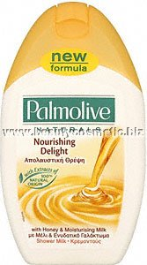 Palmolive naturals мед и мляко душ гел
