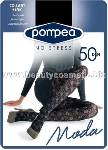 Pompea figured pantyhose Rene