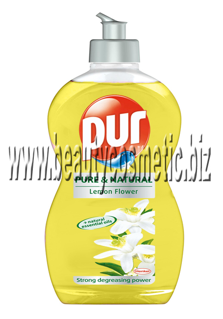 Pur Pure & Natural Lemon Flower препарат за съдове 500ml