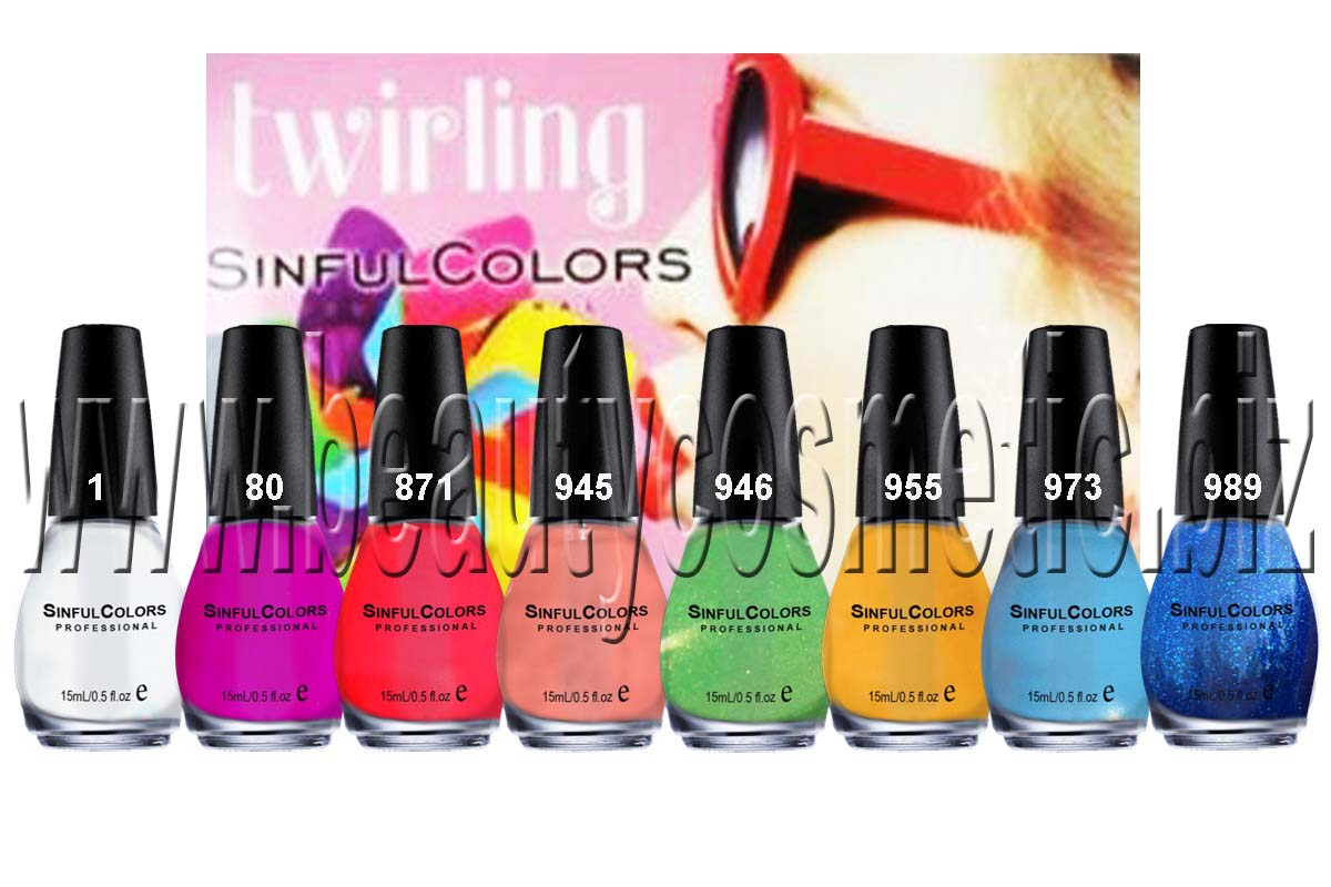 Sinful Colors Twirling Collection