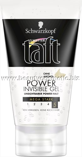 Taft Invisible Power гел за коса