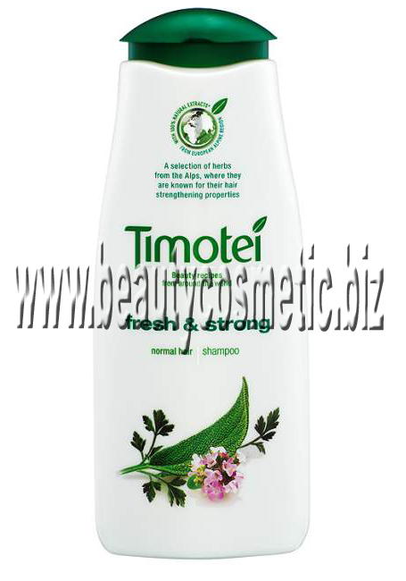 Timotei Fresh & Strong Shampoo for normal hair